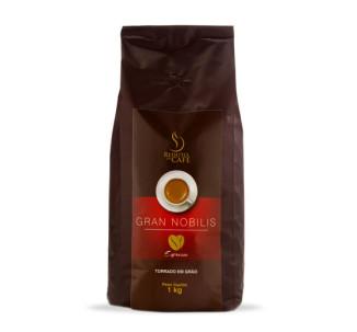 CAFÉ GRAN NOBILIS TORRADO EM GRÃO 1KG